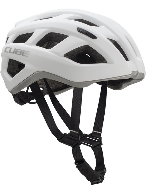 Cube Roadrace Helm white'n'grey